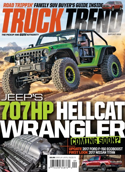 Truck Trend Cover - 9/1/2016