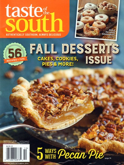 Taste of the South Cover - 9/1/2016