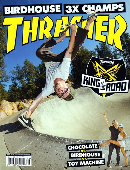 Thrasher Cover - 9/1/2016