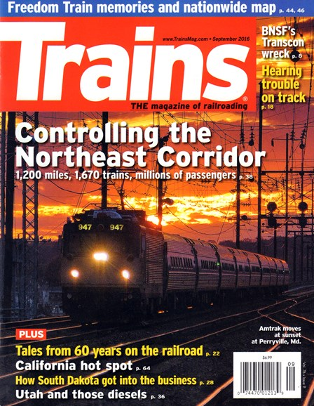 Trains Cover - 9/1/2016