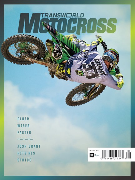 Transworld Motocross Cover - 9/1/2016