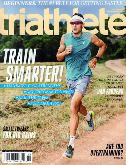 Triathlete Cover - 9/1/2016