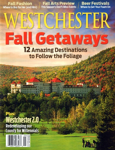 Westchester Magazine Cover - 9/1/2016