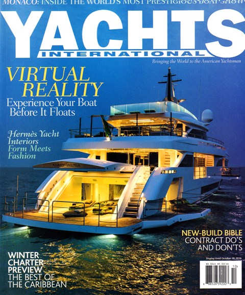 Yachts International Cover - 9/1/2016