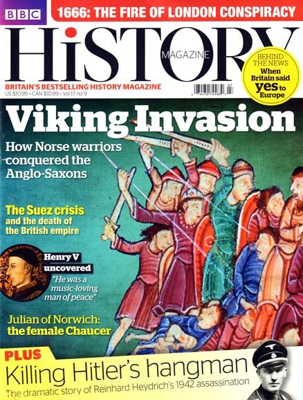 BBC History Cover - 9/1/2016
