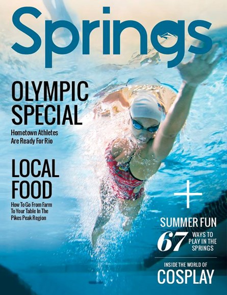 Springs Magazine Cover - 6/1/2016