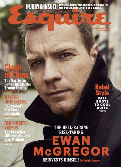 Esquire Cover - 10/1/2016