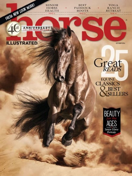 Horse Illustrated Cover - 10/1/2016