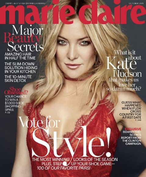 Marie Claire Cover - 10/1/2016