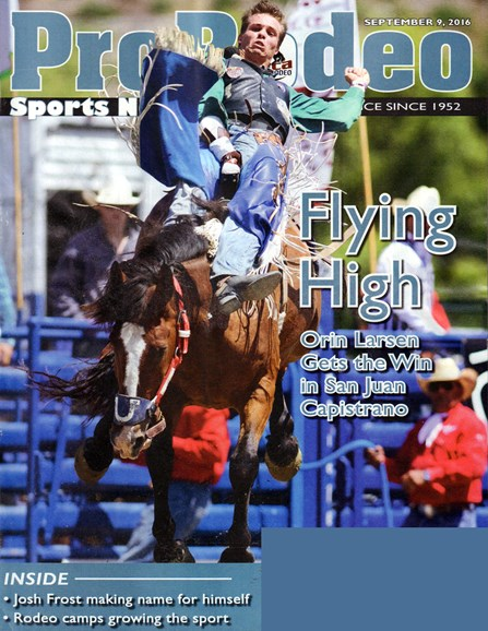 Pro Rodeo Sports News Cover - 9/9/2016