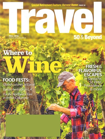 Travel 50 & Beyond Cover - 9/1/2016