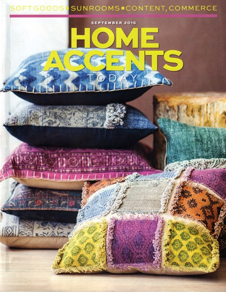 Home Accents Today Cover - 9/1/2016