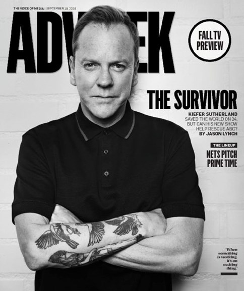 Adweek Cover - 9/19/2016
