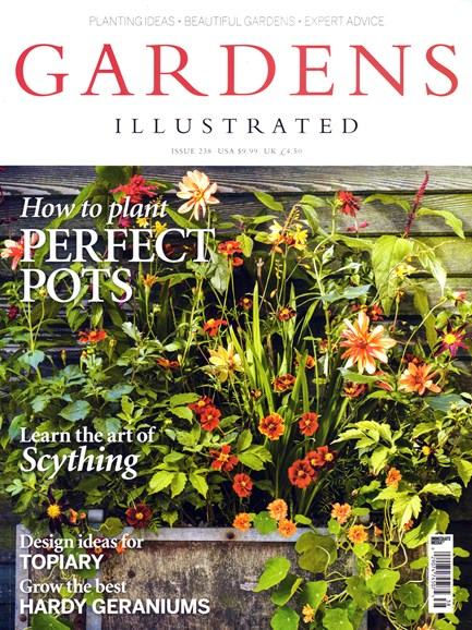 Gardens Illustrated Cover - 9/1/2016