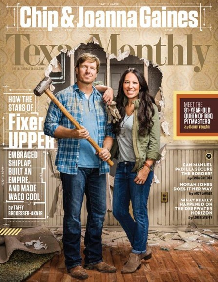 Texas Monthly Cover - 10/1/2016