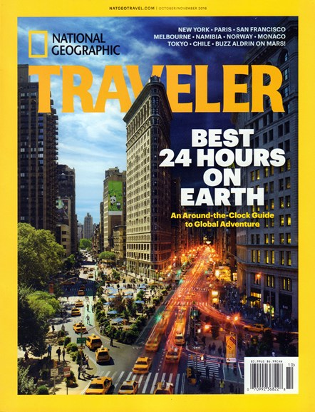 National Geographic Traveler Cover - 10/1/2016