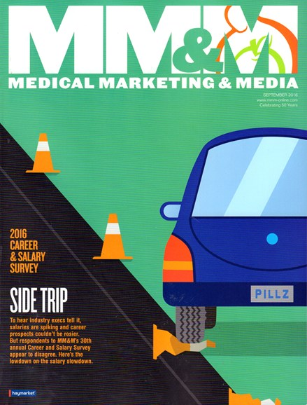 Medical Marketing & Media Cover - 9/1/2016