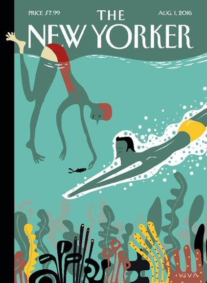 The New Yorker Cover - 8/1/2016