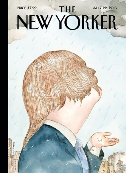 The New Yorker Cover - 8/22/2016