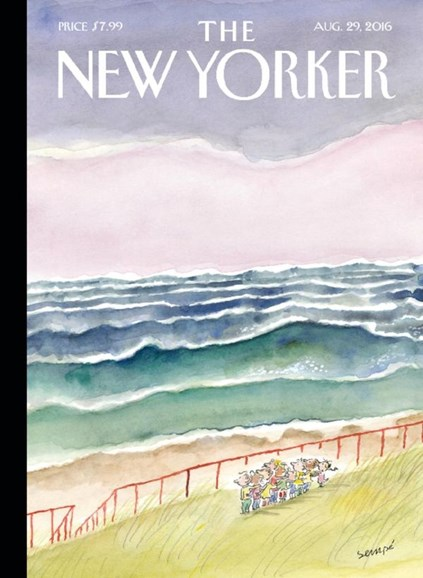 The New Yorker Cover - 8/29/2016