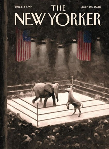 The New Yorker Cover - 7/25/2016
