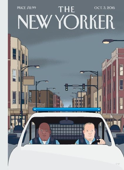 The New Yorker Cover - 10/3/2016