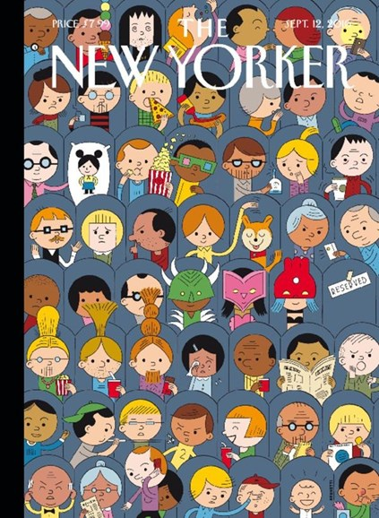 The New Yorker Cover - 9/12/2016