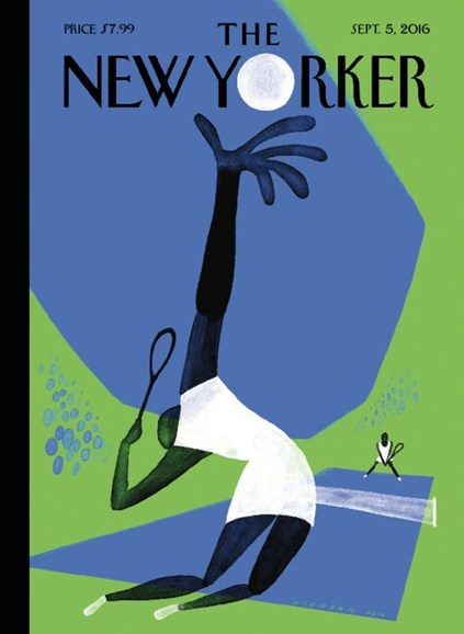 The New Yorker Cover - 9/5/2016