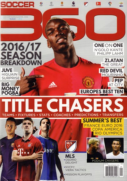 Soccer 360 Cover - 9/1/2016