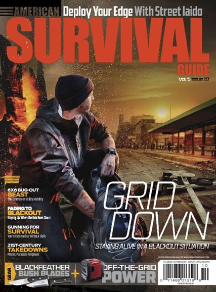 American Survival Guide Cover - 10/1/2016