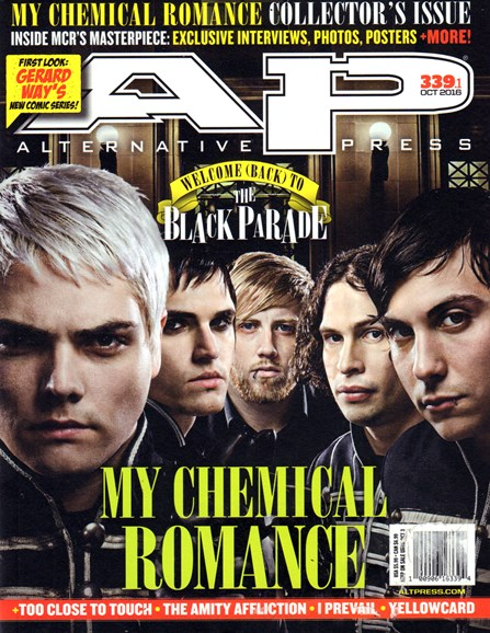 Alternative Press Cover - 10/1/2016