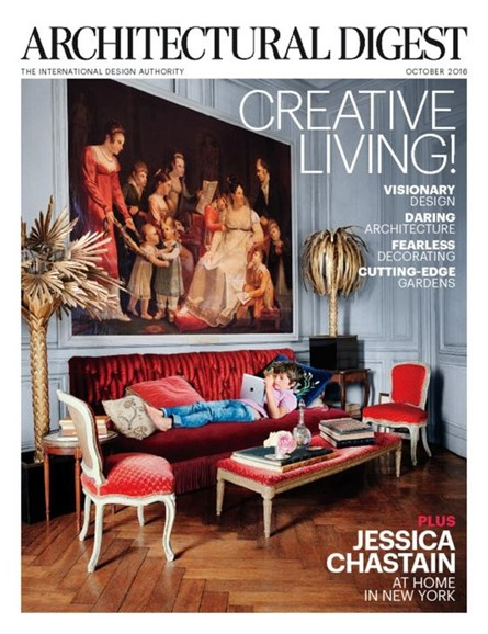 Architectural Digest Cover - 10/1/2016