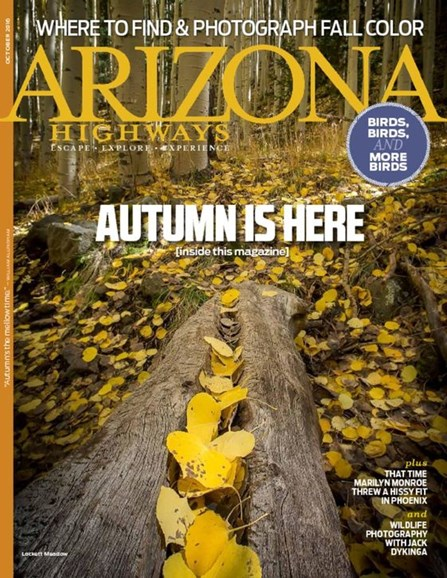 Arizona Highways Cover - 10/1/2016