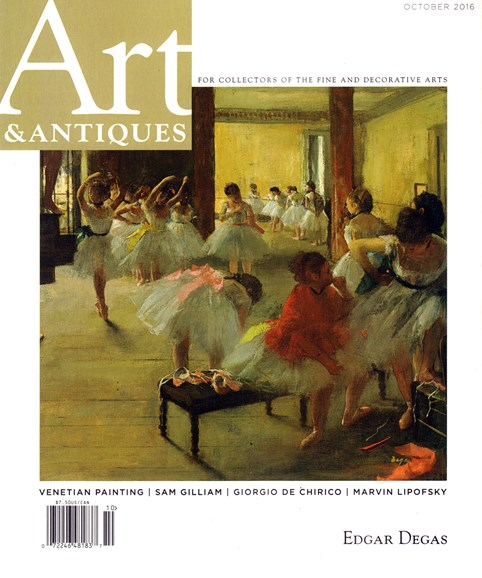 Art & Antiques Cover - 10/1/2016