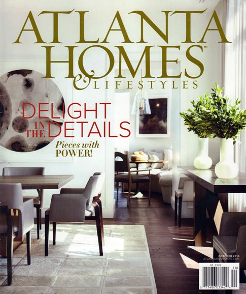 Atlanta Homes & Lifestyles Cover - 10/1/2016