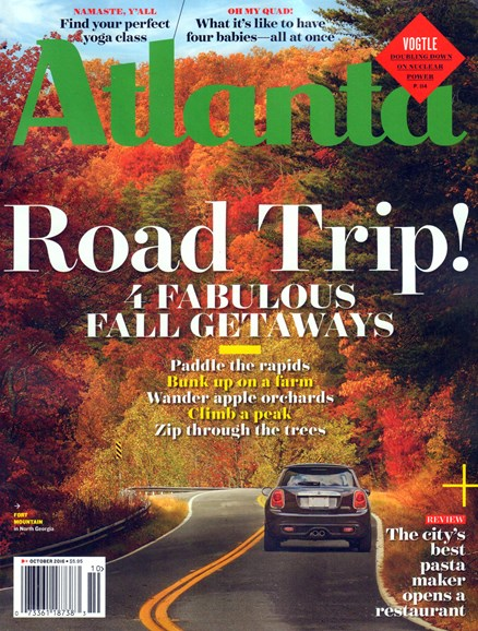 Atlanta Magazine Cover - 10/1/2016