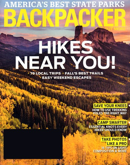 Backpacker Cover - 10/1/2016