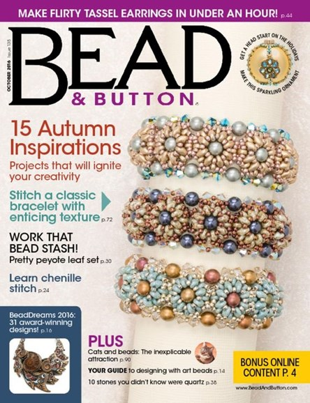 Bead & Button Cover - 10/1/2016