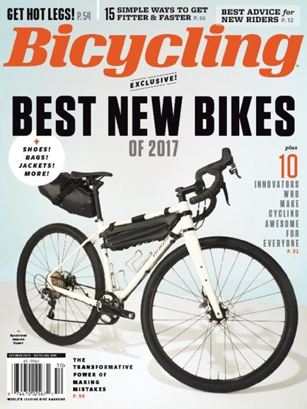 Bicycling Cover - 10/1/2016
