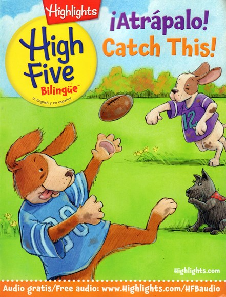 Highlights High Five Bilingue Cover - 10/1/2016