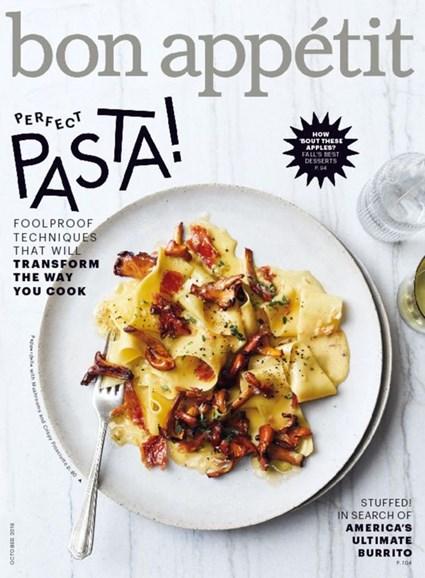 Bon Appétit Cover - 10/1/2016