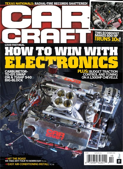 Car Craft Cover - 10/1/2016