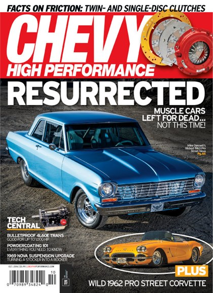 Chevy High Performance Cover - 10/1/2016