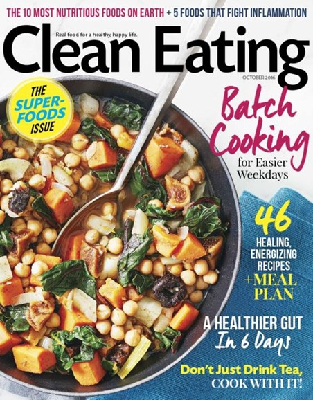 Clean Eating Cover - 10/1/2016