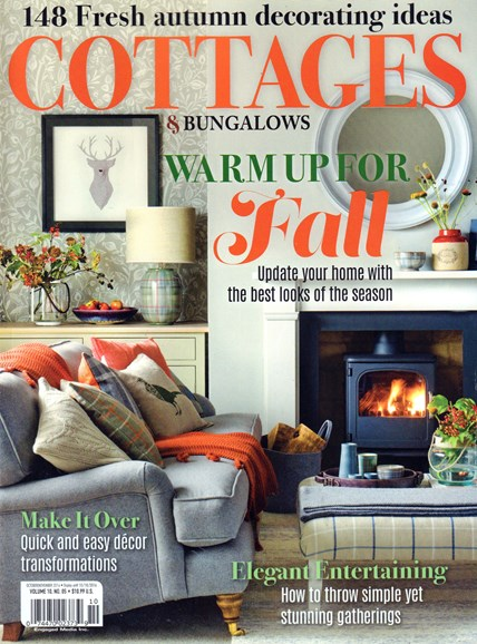 Cottages & Bungalows Cover - 10/1/2016