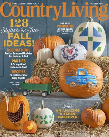 Country Living Cover - 10/1/2016