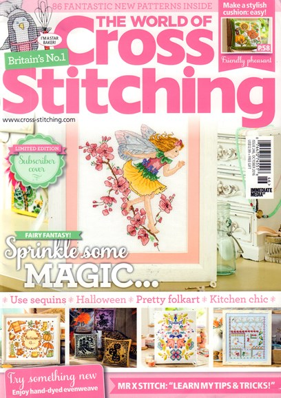 The World of Cross Stitching Cover - 10/1/2016