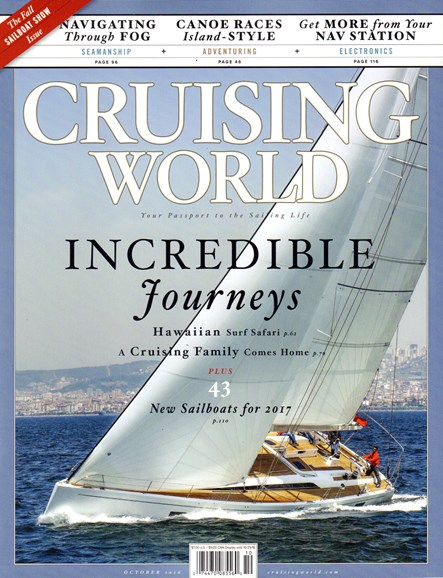 Cruising World Cover - 10/1/2016