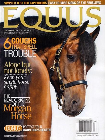 Equus Cover - 10/1/2016