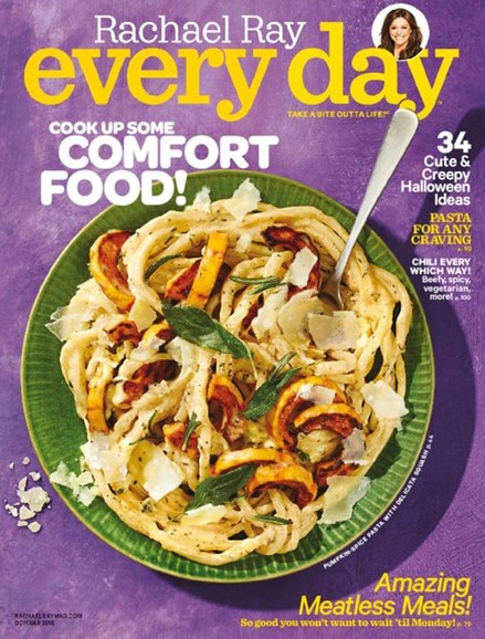 Rachael Ray Every Day Cover - 10/1/2016
